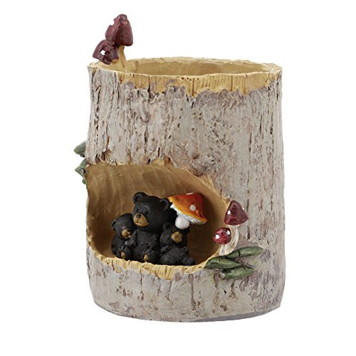 Segreto Cute Animal Plants Pots Planter for Small Sedum Succulent Plants Desk Ga