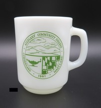 Anchor Hocking, Coffee Mug, Opal Milk Glass, 1961 Alleghany Community Co... - $5.00