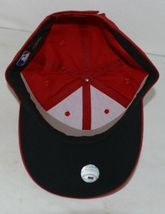 OC Sports Official License of MLB OSFM Style 808 Dark Red Adjustable image 5