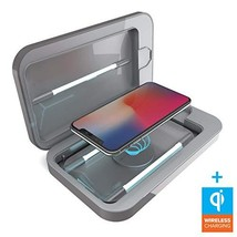 PhoneSoap 3.0 UV Sanitizer and Universal Phone Charger Gunmetal Gray, Wi... - $99.90