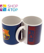 FC BARCELONA OFFICIAL FOOTBALL SOCCER CLUB TEAM CERAMIC MUG CUP COFFEE T... - $9.35
