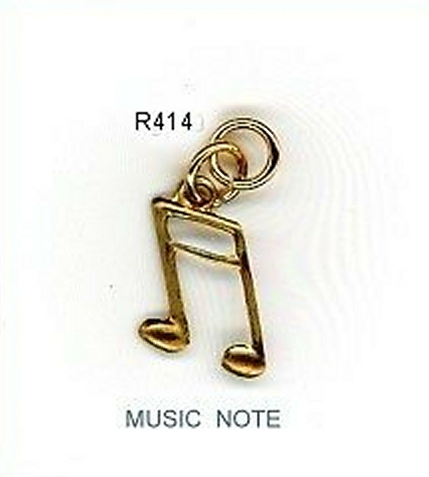 Primary image for new NAIL ART DANGLE  MUSIC NOTE  CHARM Jewelry