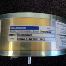 Kollmorgen Motion Technologies ServoDisc U-Series U12M4LR - $171.00