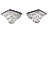 SYMFONI FLUSH (pair) by Preben Dal, 1960s. Extremely rare ceiling flush ... - $210.00