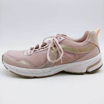 Ryka Womens Intrigue 2 Sneakers Shoes Pink Low Top Leather Lace Up US 12W - $39.59