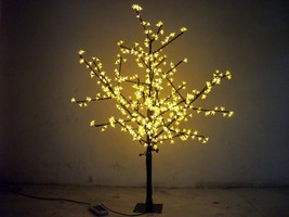 1.5 M 5 FT LED Cherry Blossom Tree Outdoor Wedding Garden Holiday Light Yellow - $329.00