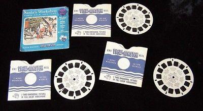 Santa's Workshop View Master #89 Vacationland Series Sawyers Viewmaster