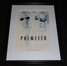 Palmetto 1998 Framed 11x14 ORIGINAL Advertisement Woody Harrelson - $32.36