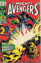The Avengers Comic Book #65 Marvel Comics 1969 FINE+ - $27.95