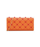Charles & Keith Embellished Quilted Wallet Chain Clutch S Shoulder Bag O... - £21.36 GBP