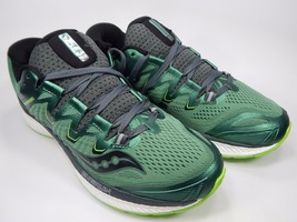 Saucony Triumph ISO 4 Men's Running Shoes Size US 9 M (D) EU 42.5 Green S20413-3
