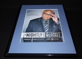 The Nightly Show 2015 Framed 11x14 ORIGINAL Advertisement Larry Wilmore - $22.55