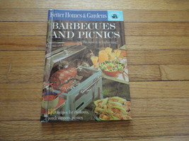 BOOK Better Homes and Gardens Barbecues and Picnics HC cookbook Creative Cooking - $1.99