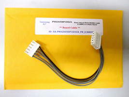 "Samsung 42"" PN42A450P1DXZA Power Board BN44-00206A Cable [CN809] to X-Main   - $14.95"