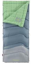 "Coleman Cozy Foot WOMAN'S 40 Sleeping Bag - Fleece Lined Foot Box Fit 5' 11"" NEW - $39.11"