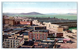 Early 1900s Partial View of the Docks, San Francisco, CA Postcard  - $12.55