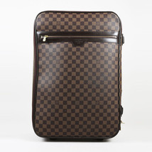 "Louis Vuitton Brown ""Damier Ebene"" Coated Canvas ""Pegase 55"" Suitcase - $1,305.00"