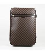 "Louis Vuitton Brown ""Damier Ebene"" Coated Canvas ""Pegase 55"" Suitcase - $1,305.00"