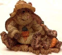 Boyds Bears Charlotte & Bebe Gardeners Bunny Figurine 1993 1E First Pristine - $17.97