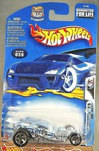 2003 Hot Wheels #56 Wild Wave 2/5 SURF CRATE Lt Blue White Board w/Chrom... - $7.25