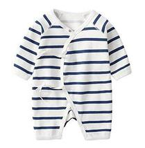 Cotton Baby Long Sleeve Baby Clothes Newborn Baby Clothes [Q] - £15.31 GBP