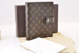 Louis Vuitton Monogram Agenda Gm Day Planner Cover R20006 Lv Auth sa1674 - $820.00