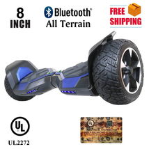 "All Terrain 8.5"" Blue Bluetooth Off Road Hoverboard High Speed Scooter - $329.00"
