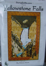 """Story Quilts """"Yellowstone Falls"""" 27"""" x 41"""" - $7.00"""