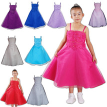 Flower Girl Party Bridesmaid Wedding Pagent Dress 4 5 6 7 8 9 10 11 Years - $23.40+