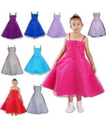 Flower Girl Party Bridesmaid Wedding Pagent Dress 4 5 6 7 8 9 10 11 Years - $26.35+