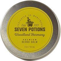 Seven Potions Beard Balm 2 oz. 100% Natural, Organic with Jojoba Oil. Makes Your image 5