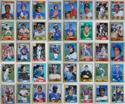 1987 Topps Baseball Cards Complete Your Set You U Pick From List 601-792 - $0.99+