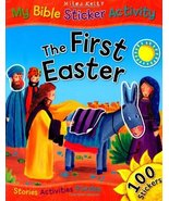 My Bible Sticker Activity - The First Easter [Paperback] Vic Parker - $9.85