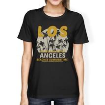 Los Angeles Beaches Summertime Womens Black Shirt - $14.99+