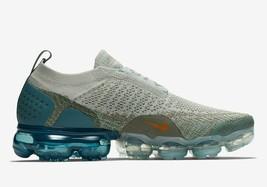 Nike Air Vapormax FK MOC 2 Womens Shoes AJ6599-005 Light Silver/Orange S... - $189.99