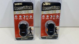 SABRE Personal Alarm with Clip and LED Light w 120dB Alarm - Black, Weat... - $14.80