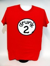 Drunk 2 Funny Bar Crawl Halloween Spring Break Beer Frat Graphic Tee TShirt - $8.90