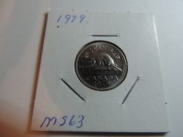 1979 Canadian Nickel coin A402 - $2.62