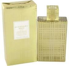 Burberry Brit Gold Perfume 3.3 Oz Eau De Parfum Spray image 1