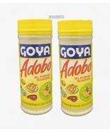 Bundle of 2 Goya Adobo All Purpose Seasoning Lemon And Pepper 16 Ounces - $15.83