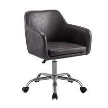Linon Charcoal Upholstered Adjustable Brooklyn Office Chair - $165.59