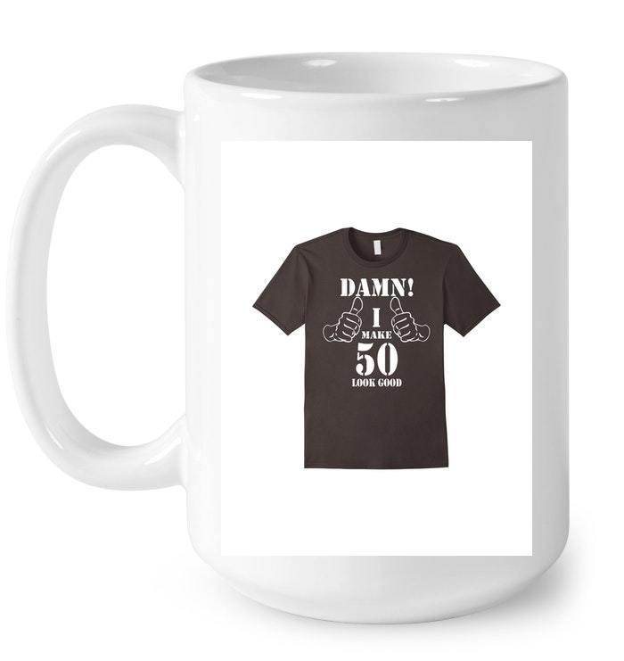 50th Birthday Vintage Made in 1968 Gift ideas Man Gift Coffee Mug