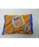 LOT OF 2 - Hershey's Gold Peanuts & Pretzels Caramel Bars Ltd Edition 9oz  - $11.75