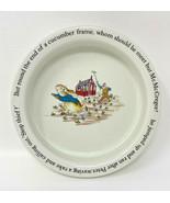 "Wedgwood Peter Rabbit Child's Dish Bowl 6-1/2"" Beatrix Potter 19-1736 - $18.99"