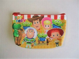 Disney Pixar TOY STORY 4 Baby Face Red Stripe Zippered Cosmetic Pouch, F... - $11.40
