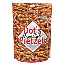 Dot's Homestyle Pretzels 2 lb. Bag 3 Bags 32 oz. Seasoned Pretzel Snack Sticks P