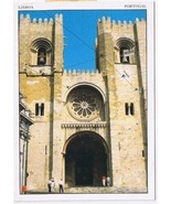 Portugal Postcard Lisboa Se Cathedral - $2.84