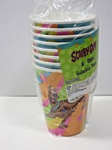 SCOOBY DOO 9oz Paper CUPS (8) Vintage Birthday Party Supplies tableware 8 count - $8.59