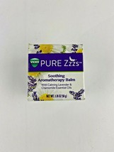 Vicks Pure Zzzs Soothing Aromatherapy Balm with Calming Essential Oils 1... - $7.49