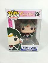 Sailor Pluto 296 Funko Pop Anime Vinyl Figure Vaulted Retired Sailor Moon - $35.99